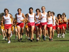 Dons cross country team returns from Stanford meet