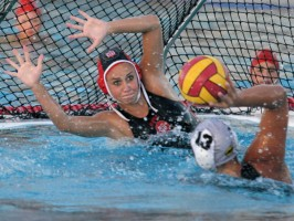 Girls water polo passionate, determined, stronger