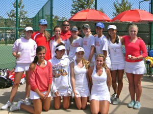 Girls tennis, 2010 CIF Champions, begin fall 2011 season
