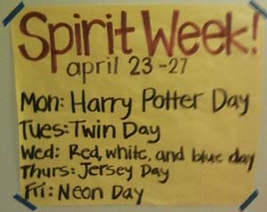 Spirit Week Video