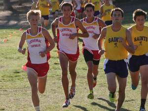 Cross country boys hope to take home league title