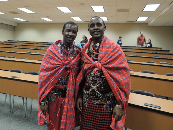 Maasai Warriors visit CCHS, share importance of education