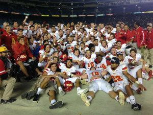 Dons football ends season victoriously