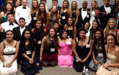 CCHS Students serve as hosts at Special Needs Prom