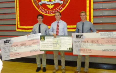 Stiker triplets earn full-paid scholarships through ROTC